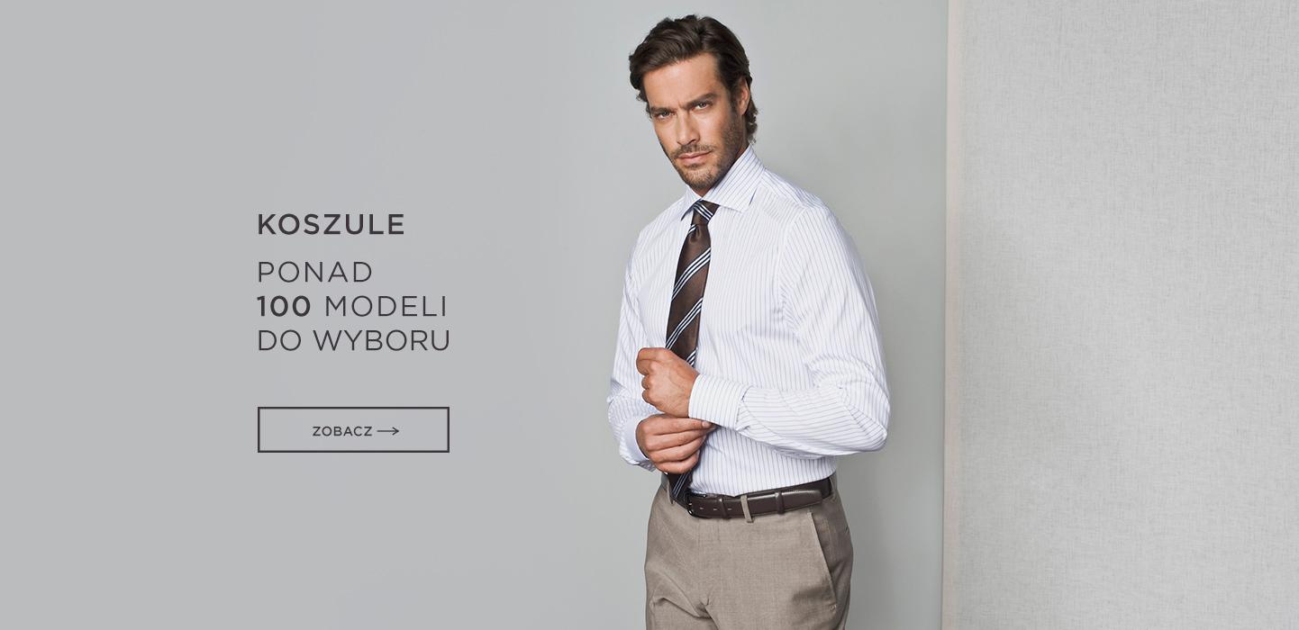 Koszule 100 modeli
