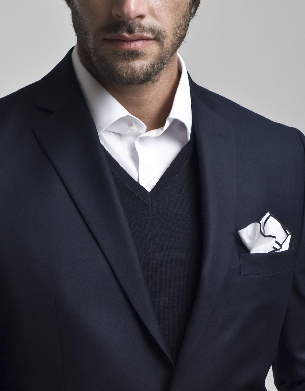 garnitur bez krawata