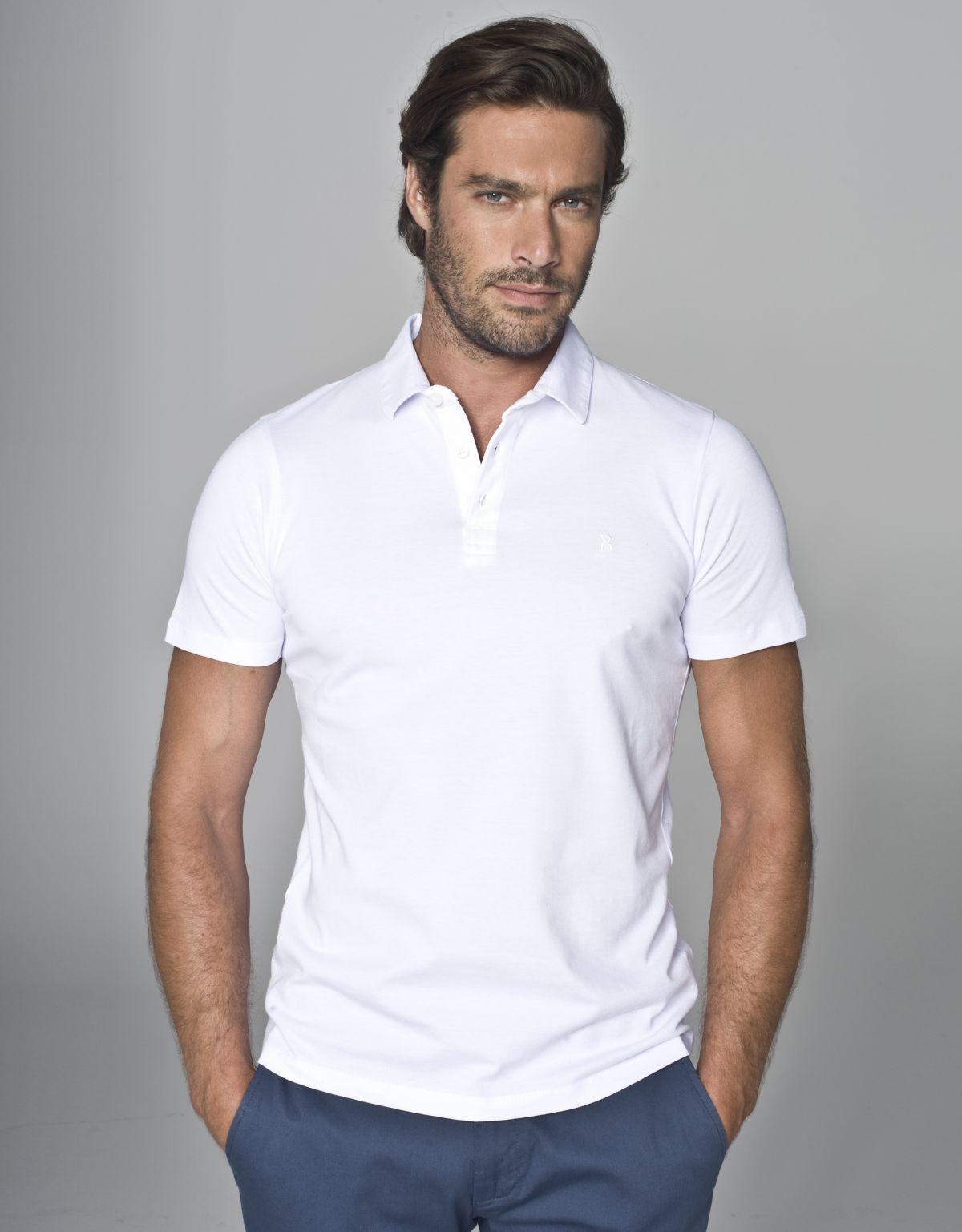 Ubiór na poprawiny dla mężczyzny – koszulka polo Lipari